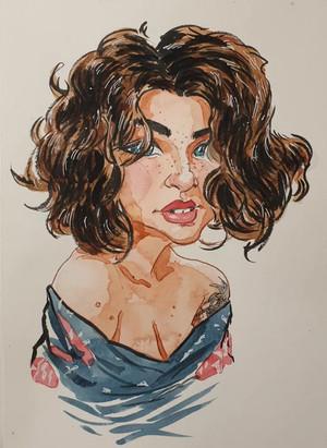 Michele Alves portrait - ArtyMikey