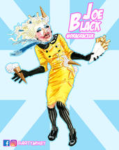 Joe Black 2nd RuPaul's Drag Race UK
