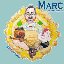 Marc The Great British Bake Off 2020