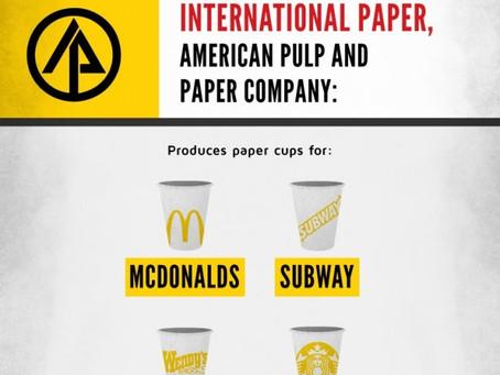 6 Secret Multinational Giants (инфографика с переводом)