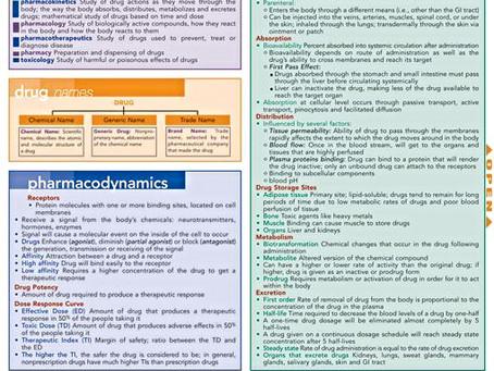 Основные понятия  и концепции Фармакологии (на английском языке)