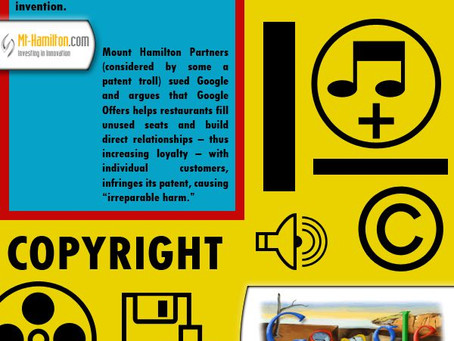 Intellectual Property -  infografic explained through Google (инфографика с переводом)