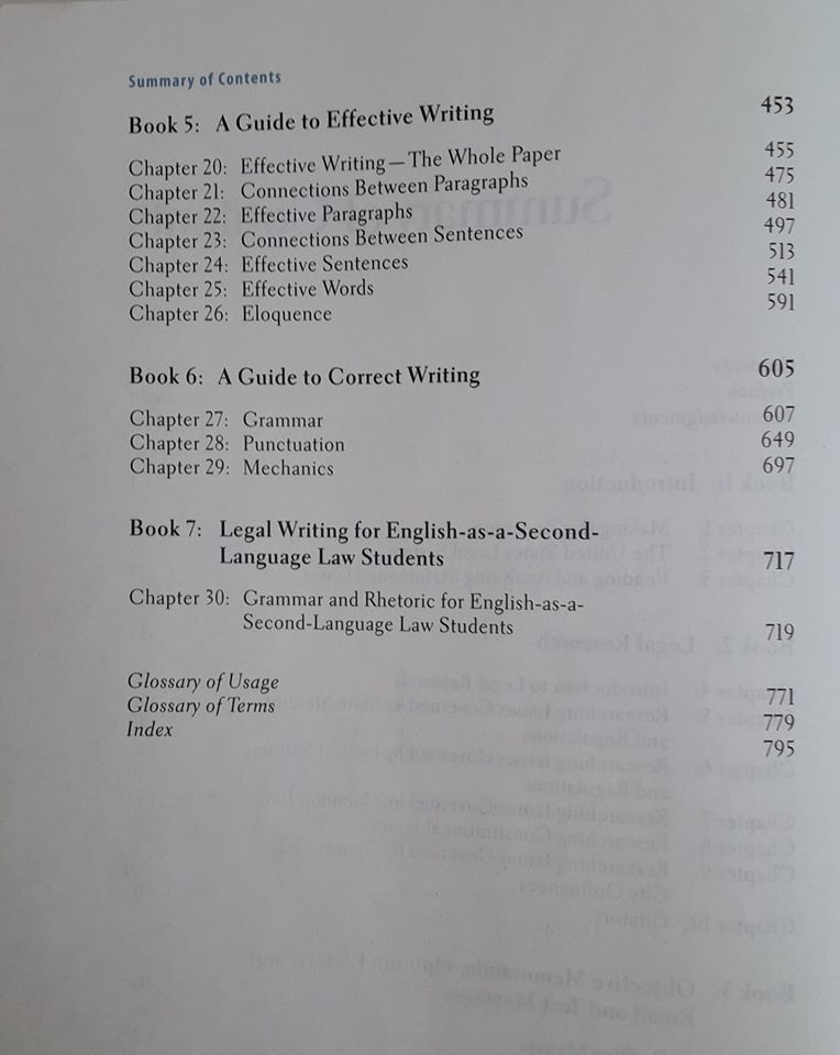 legal writing, курс юридического английского языка