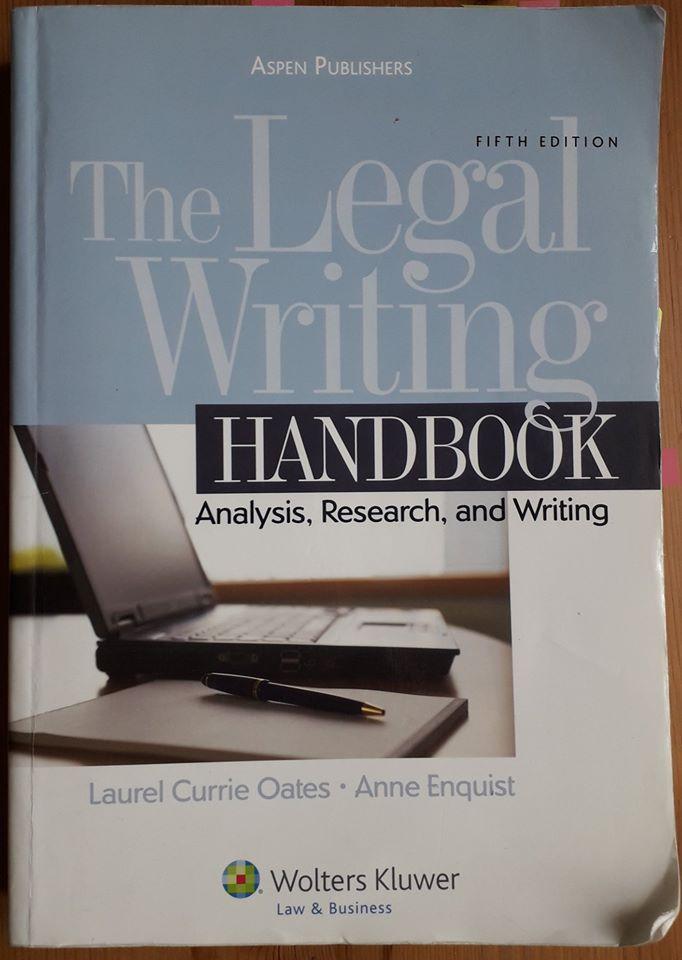 legal writing курс