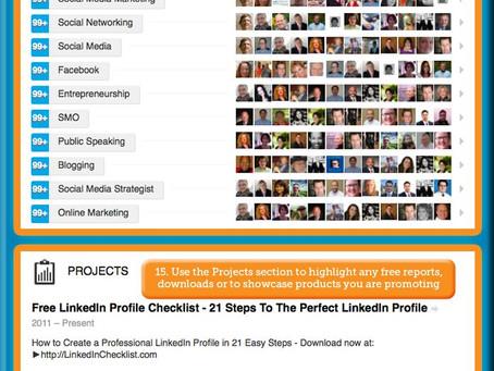 How to Create a Kick-Ass Linkedin Profile (инфограмма с переводом)