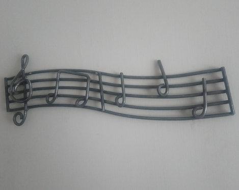 Handcrafted Music Bar Steel Wall Art