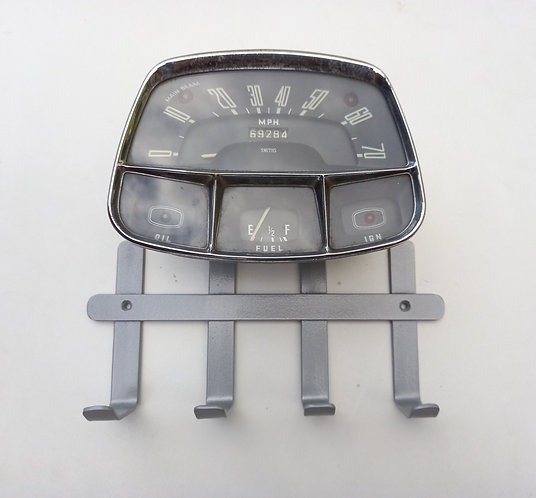 Austin speedometer coat rack