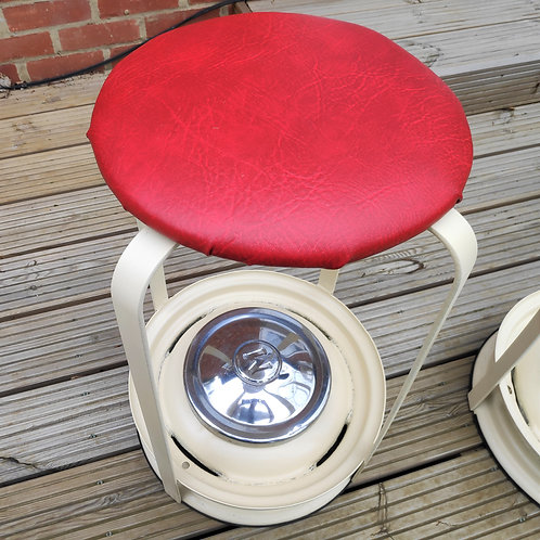 Morris Minor Wheel Bar Stool