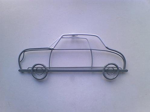 Nissan Figaro steel wall art side view
