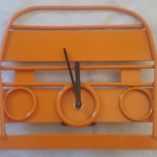 Camper Van with clock