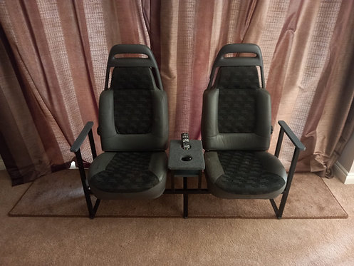 Land Rover Discovery Seat Sofa - Reclaimed Materials Industrial Furniture