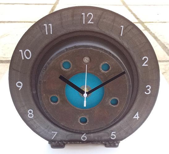 Reclaimed Disc Brake Desktop Clock