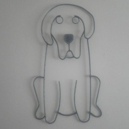 Handcrafted Labrador Steel Wall Art