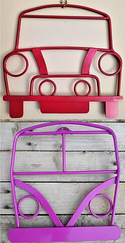Handmade Steel Wall Art - Classic Car Wall Hangings