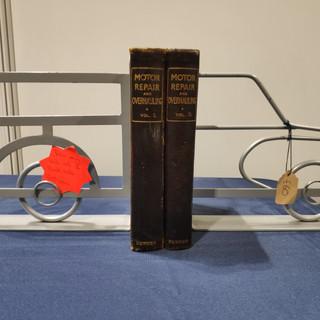 Morris Minor Traveller Book Ends