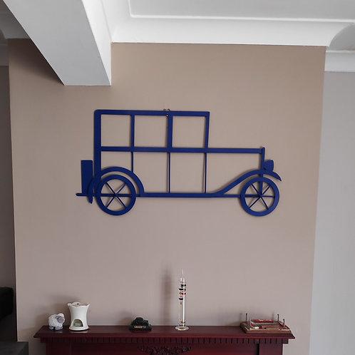 Austin 12 steel wall art in blue