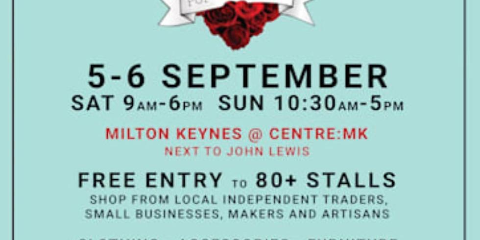 MK Handmade and Vintage Fair, September 2020
