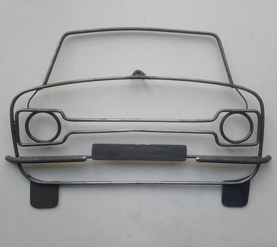 Handmade Ford Escort MK1 steel wall art