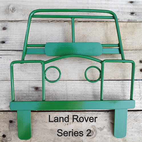 Land Rover Series 2 steel wall art