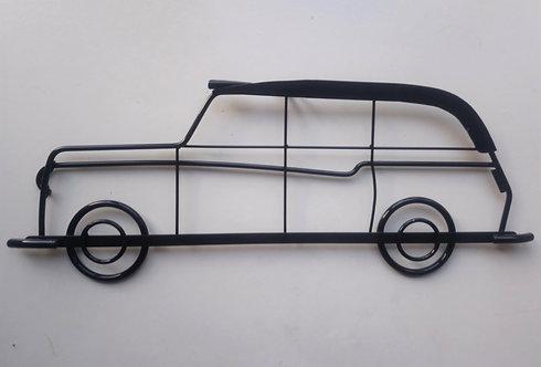 Handmade Taxi Cab steel wall art