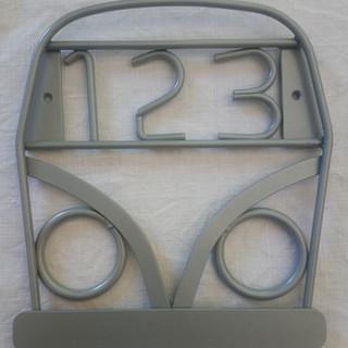 Camper Van with House Numbers