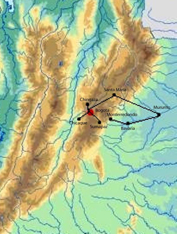 Bogota savanna - llanos foothills.jpg