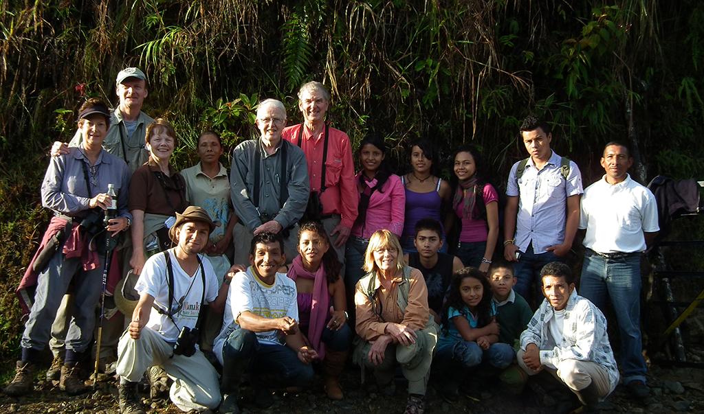 Birding in Montezuma Reserve