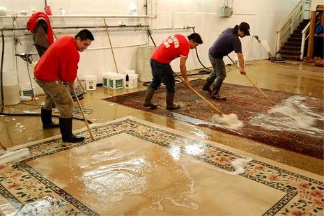 Lavaggio  con metodo persiano