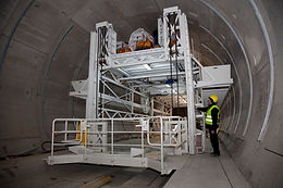 Tunnel fire-proofing system
