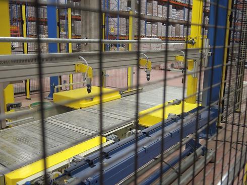 foliewikkelaar interne logistiek transpo