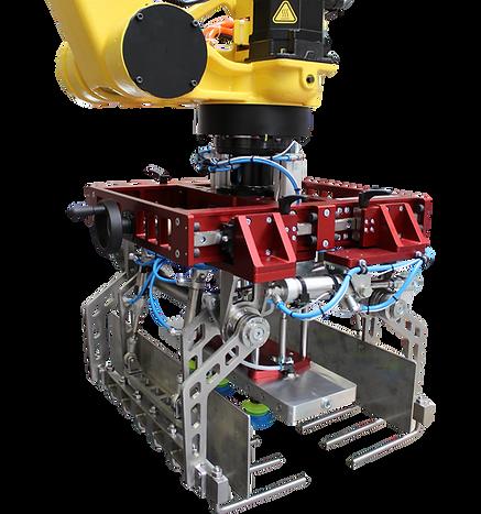 robopal, automation, robotics, palletizing, palletising, end or arm tool