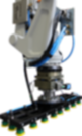 robopal, automation, robotics, palletizing, palletising, end or arm tool