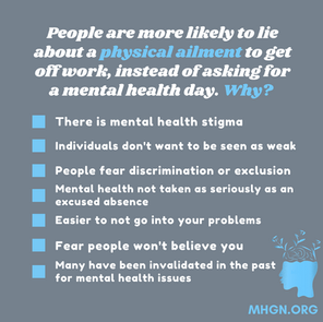 How To Ask Your Boss For A Mental Health Day
