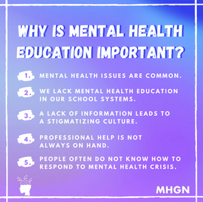 MH EDUCATION IS IMPORTANT