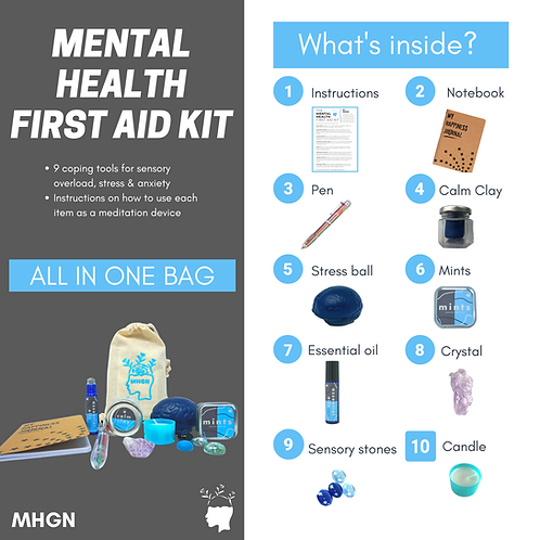 THE MENTAL HEALTH FIRST AID KIT