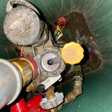 Gauge on Underground Tank