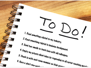 Ten Things To Do Every Work Day
