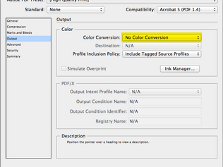 InDesign Color Consistency