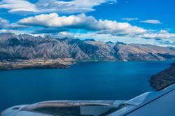 Lake Wakatipu, New Zealand - January 16,