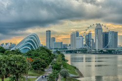 Singapore Flyer & Gardens By The Bay