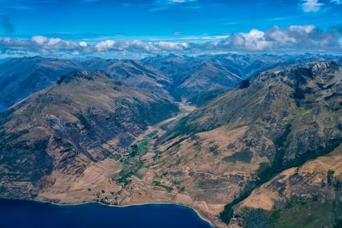 Above Lake Wakatipu