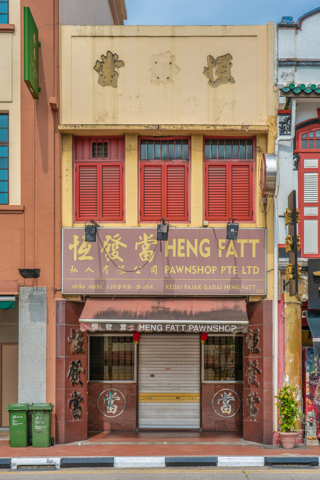Pawn Shop in Chinatown