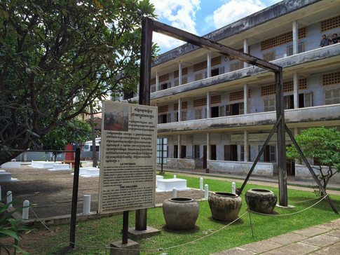The Tuol Sleng Genocide Museum