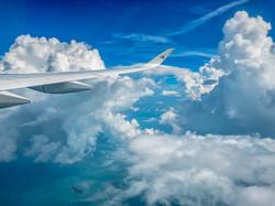 Maylasia - May 6, 2018- Flying to Changi
