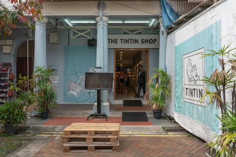 Tintin Shop in Chinatown