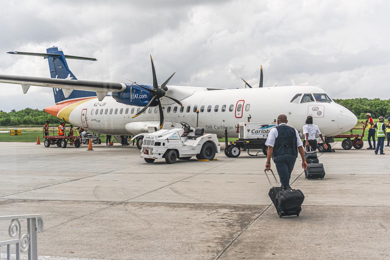 Georgetown - Guyana - Sep 18 2018- LIAT