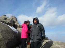 2013년 1월 용봉산 MT