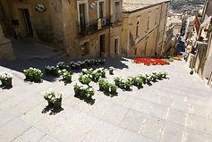 Monumental treppe in Caltagiron