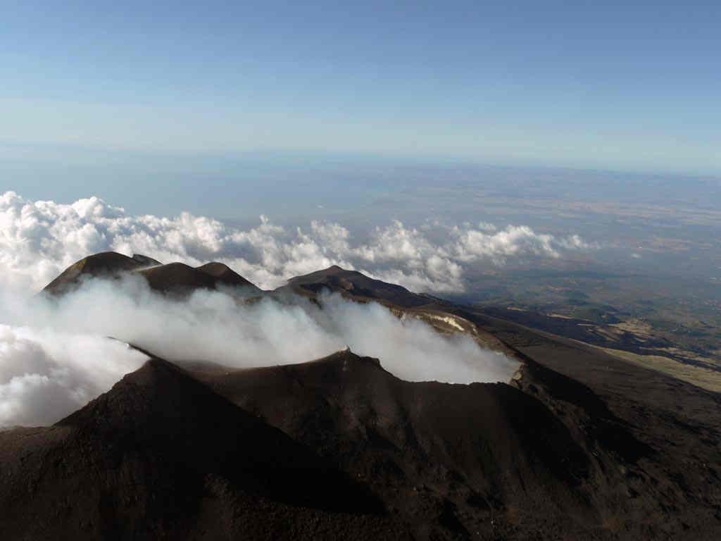 Etna Mit helicopet