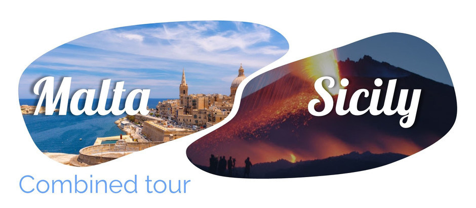 Combined tour Sicily Malta
